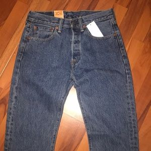 LEVIS 501 original jeans, New with tags never worn
